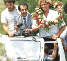 Fußball-Legende Jeanmari Paff, 1992
