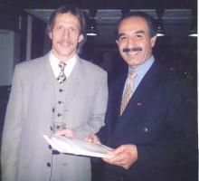 Ex-Nationaltrainer Christoph Daum, 1998