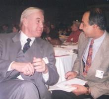 Ex-Innenminister Manfred Kanther, 1994