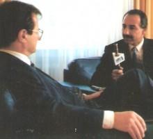 Ex-Außenminister Klaus Kinkel, 1995
