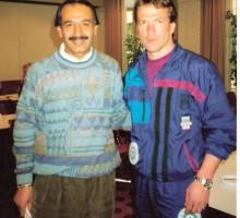 Ex-Nationalfußball-Libero Lothar Matthäus, 1995
