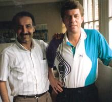 Fußballtrainer-Legende Otto Rehhagel, 1995