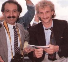 Ex-National-Fußballtrainer Rudi Völler, 1988