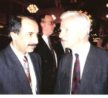 Hasan Tekin, Alt-Bundespräsident Richard von Weizsäcker, 1989